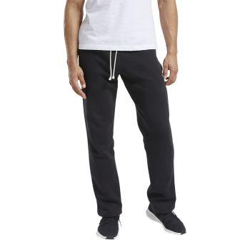 Reebok TE FLC OH PANT, muške hlače, crna