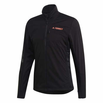adidas TX XPERIOR JKT, muška jakna za planinarenje, crna