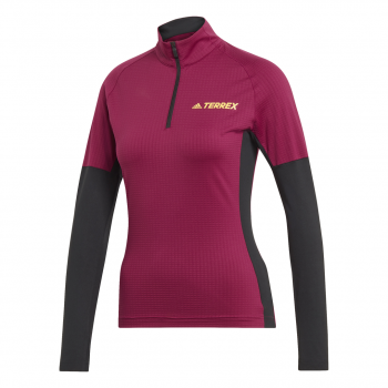 adidas AGR XC LS W, ženska majica za trčanje, crvena