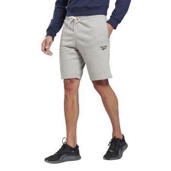 Reebok RI FT SHORT, muške fitnes hlače, siva