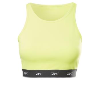 Reebok SH BEYOND THE SWEAT CROP, ženski sportski top, žuta