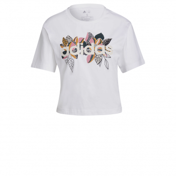 adidas W FARM G T, ženska majica, bijela