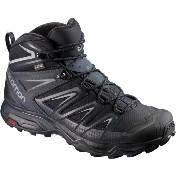 Salomon X ULTRA 3 MID GTX, muške cipele za planinarenje, crna
