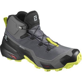 Salomon CROSS HIKE MID GTX, muške cipele za planinarenje, ljubičasta