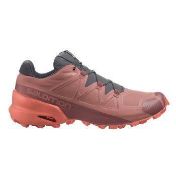 Salomon SPEEDCROSS 5 W, ženske tenisice za trčanje, crvena
