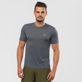 Salomon XA TRAIL TEE M, muška majica za trčanje, siva