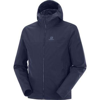 Salomon EXPLORE WATERPROOF 2L JACKET M, muška jakna za planinarenje, plava