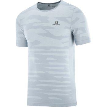 Salomon XA CAMO TEE, muška majica za trčanje, plava