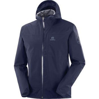 Salomon XA 2.5L WATERPROOF JACKET M, muška jakna za planinarenje, plava