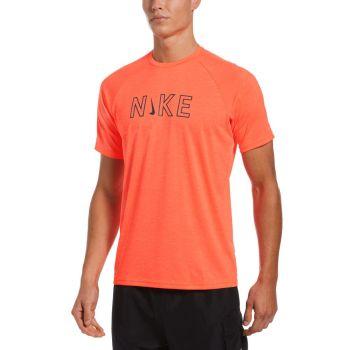 Nike Swim SHORT SLEEVE HYDROGUARD, majica, narančasta