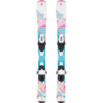 Tecnopro SWEETY JT, set dječje skije, roza