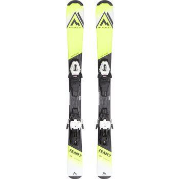 McKinley TEAM 7 JT, set dječje skije, žuta