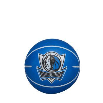 Wilson NBA DRIBBLER DALLAS MAVERICKS, mini košarkaška lopta, plava