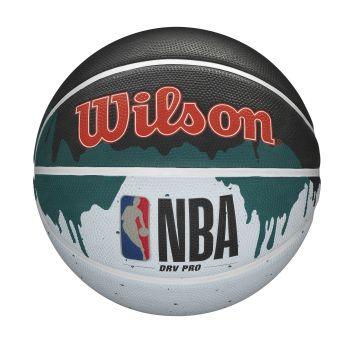 Wilson NBA DRV PRO DRIP, košarkaška lopta, crna