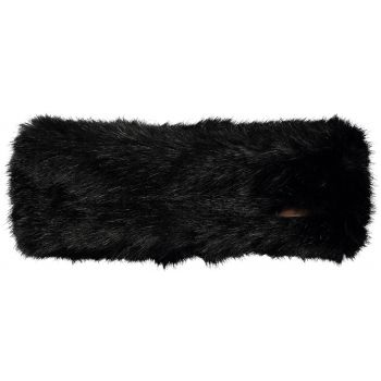 Barts Fur Headband Black One Size, traka, crna