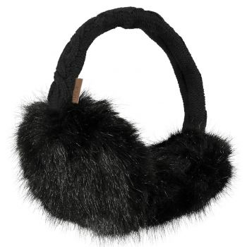 Barts FUR EARMUFFS BLACK ONE SIZE, dodaci, crna