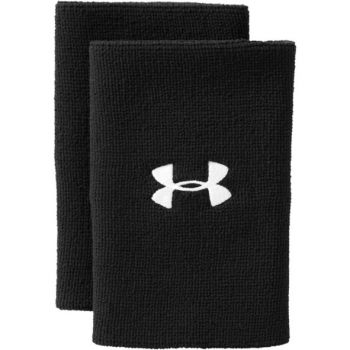 Under Armour UA 6'' PERFORMANCE WRISTBAND, znojnik teniski, crna