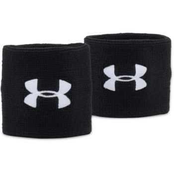 Under Armour UA PERFORMANCE WRISTBANDS, znojnik teniski, crna