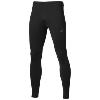 Asics Long Tight Black, muške tajice za trčanje, crna