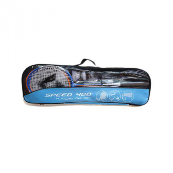 Tecnopro SET BADM.SPEED 400/4NET 3,5 BLUE 163544, set badminton, plava