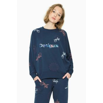 Desigual Oversized Sweat, ženski pulover, plava
