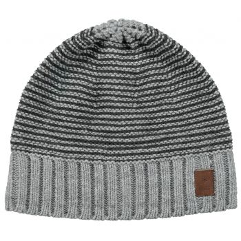 Barts David Beanie Heather Grey One Size, kapa, siva