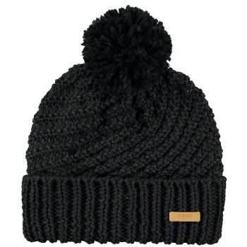 Barts Night Beanie Black One Size, kapa, crna