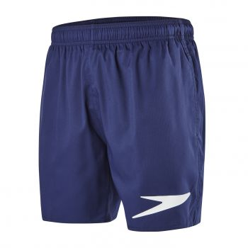 "Speedo SPORT SOLID 16"" WSHT AM NAVY/WHITE, kupaće, plava"