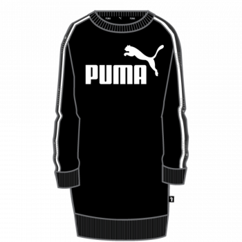 Puma PUMA TAPE DRESS TR, odjeća, crna