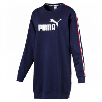 Puma PUMA TAPE DRESS TR, odjeća, plava