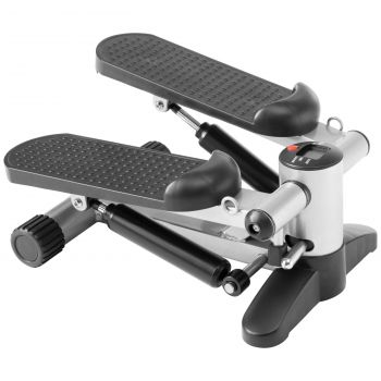 Energetics Bt 150 Mini Stepper, traka gimnastička, crna