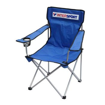 Intersport Stol Kamp. Intersport Blue, stol, plava
