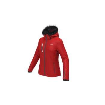 Colmar Ladies Insulated Jackets, ženska skijaška jakna, crvena