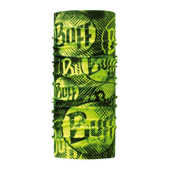 Buff ORIGINAL LOG US YELLOW FLUOR, marama unisex, zelena