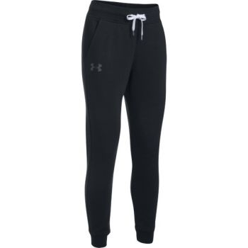 Under Armour Favorite Fleece Pant, ženske fitnes hlače, crna