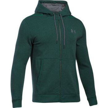 Under Armour Threadborne Fz Hoodie, muški pulover, zelena