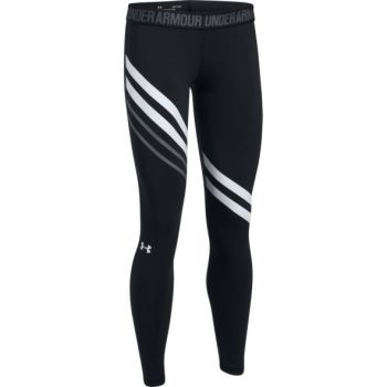 Under Armour Favorite Legging-engineered, ženske tajice za fitnes, crna