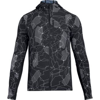 Under Armour OUTRUN THE STORM PRT JKT, muška jakna, crna