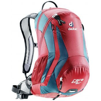 Deuter Race Exp Air, ruksak za bicikl, roza