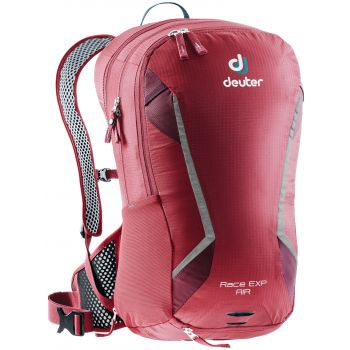 Deuter RACE EXP AIR, ruksak za bicikl, crvena