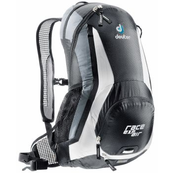 Deuter Race Exp Air, ruksak za bicikl, crna