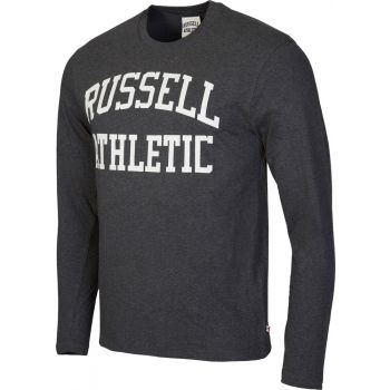 Russell Athletic L/S CREW NECK TEE WITH LOGO PRINT, muška majica, siva