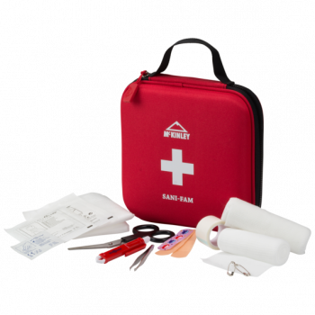 McKinley PRVA POMOČ FIRST AID KIT FAMILY RED, prva pomoč, crvena