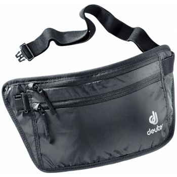 Deuter SECURITY MONEY BELT II, torbica oko struka, crna