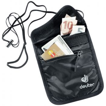Deuter Security Wallet Ii, torbica za novce, crna