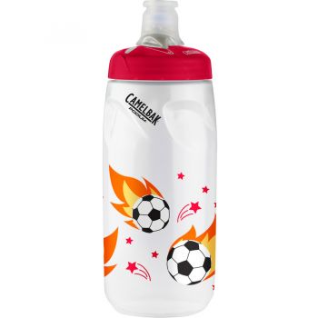Camelbak Podium 0,62l Soccer Flames, transparent