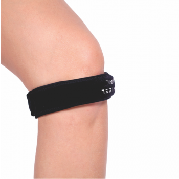 Terinda KNEE ADJUSTABLE STRAP, štitnik, crna