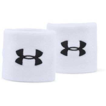 Under Armour UA PERFORMANCE WRISTBANDS, znojnik teniski, bijela