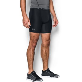 Under Armour HG ARMOUR 2.0 COMP SHORT, muške fitnes hlače, crna
