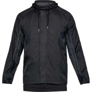 Under Armour SC30 WINDBREAKER-BLK//STY, muška jakna, crna
